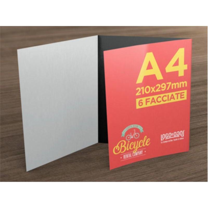 e4ef4baade097 Pieghevole A4 - piega Portafoglio - 3 Ante 6 Facciate - Pieghevoli A4 -  StampaFast