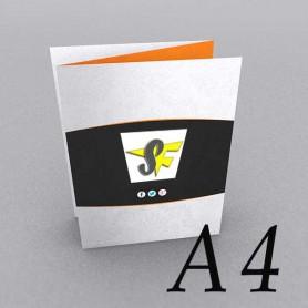 Pieghevole A4 - Piega Fisarmonica- 3 Ante 6 Facciate