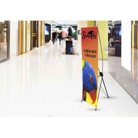 X Banner 60 x 180 cm.
