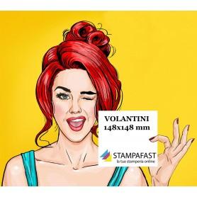 Volantini Quadrati 148x148