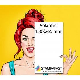 Volantini 150x265 mm.