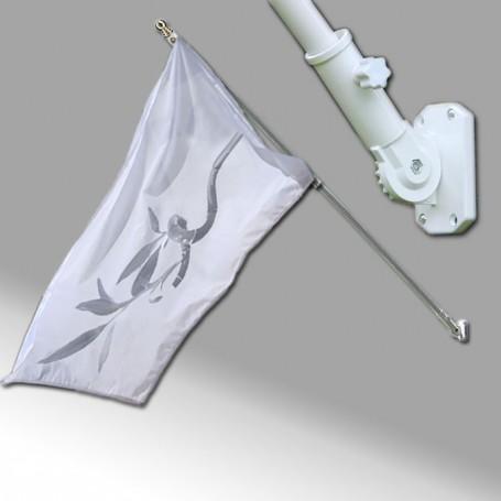 Bandiera da Parete con Asta