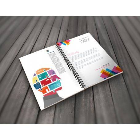 Brochure A4 a Spirale