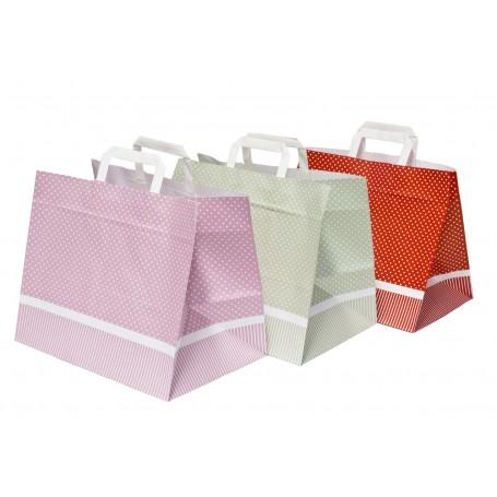 Shopper Fondo Largo a Pois