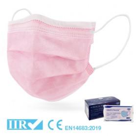 Mascherina Chirurgica Tipo IIR ROSA