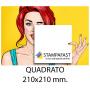 Volantini Quadrati Big 210x210 mm.