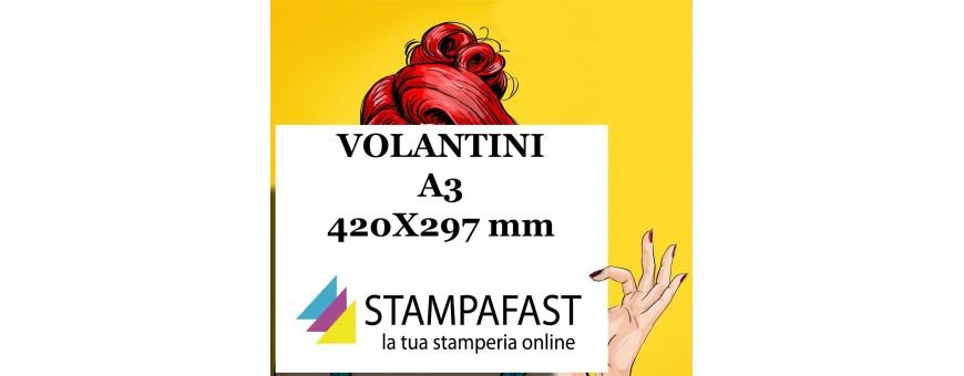 stampa i Volantini A3 con Stampafast. Un formato che sorprenderà