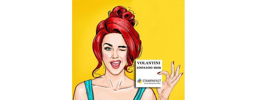 Volantini 100x100