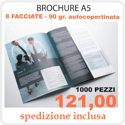 Brochure 8 pagine