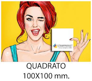 Volantini QUADRATO 10x10