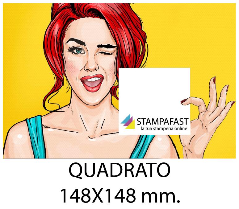 Volantini QUADRATO 148x148