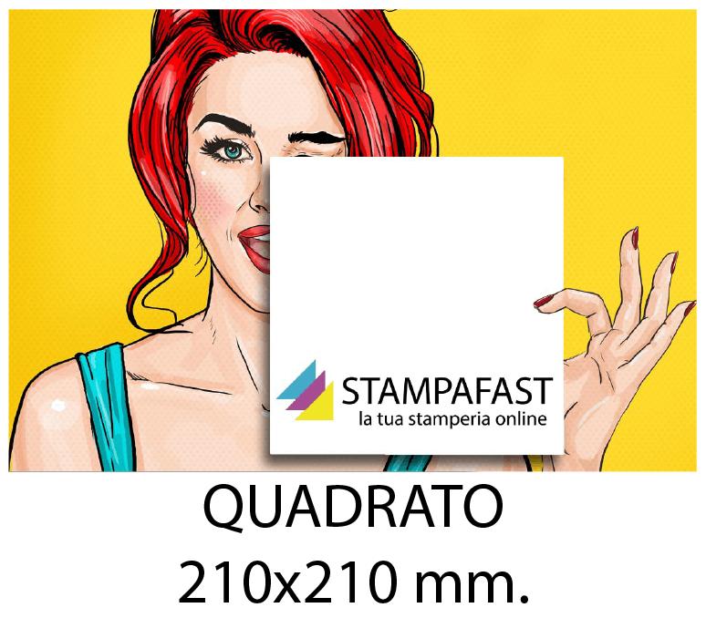 Volantini QUADRATO 210x210