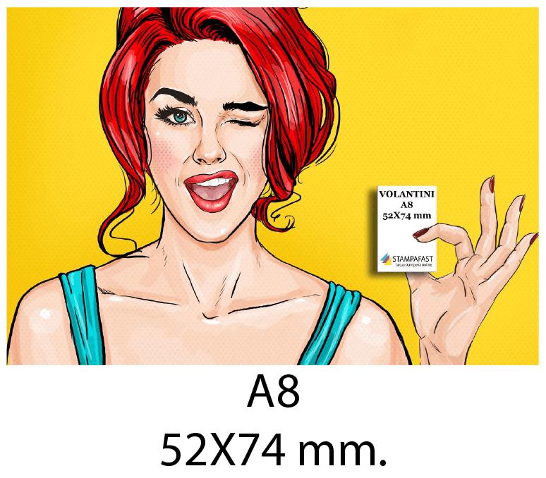 Volantini A8