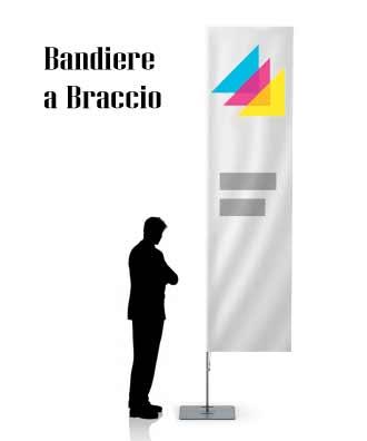 BANDIERE A BRACCIO