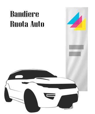 BANDIERE RUOTA AUTO
