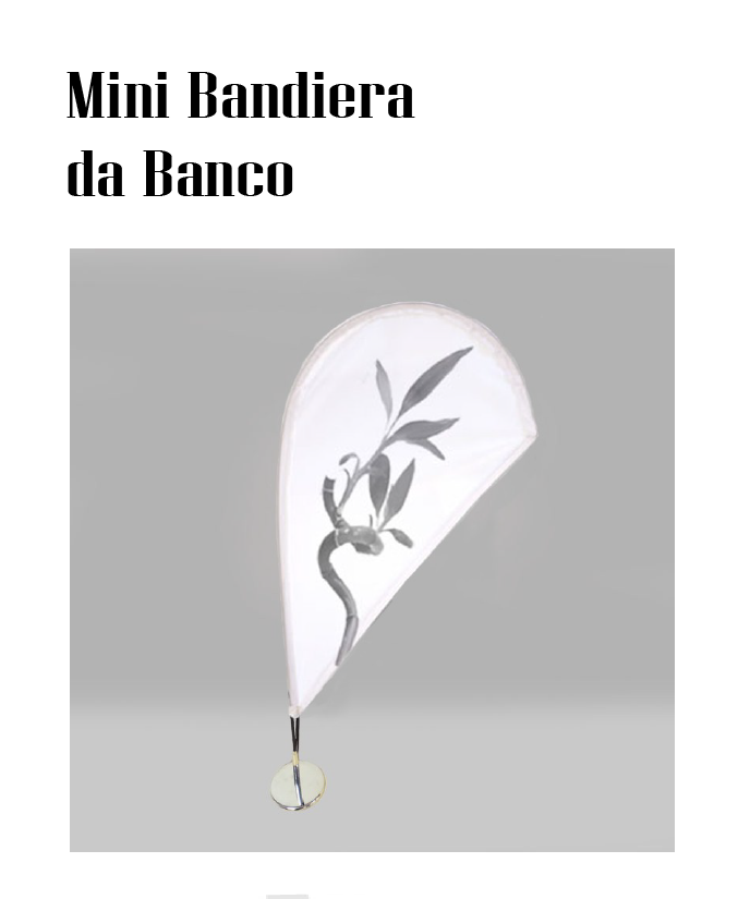 BANDIERE DA BANCO