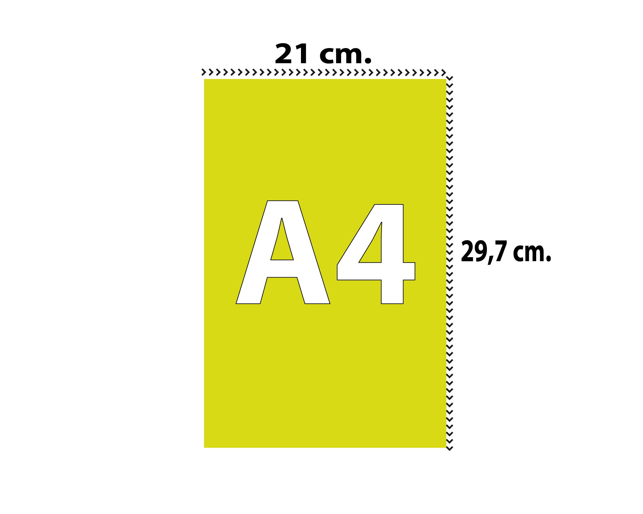 A4 VERTICALE