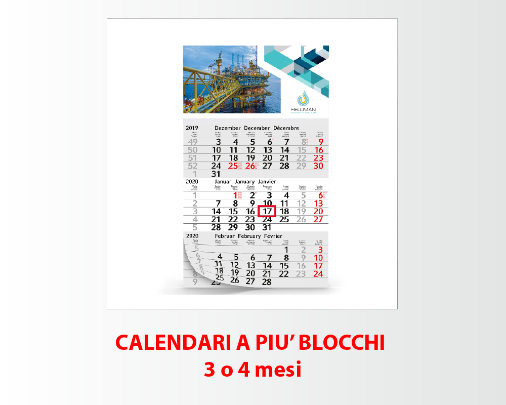 Calendari a più Blocchi