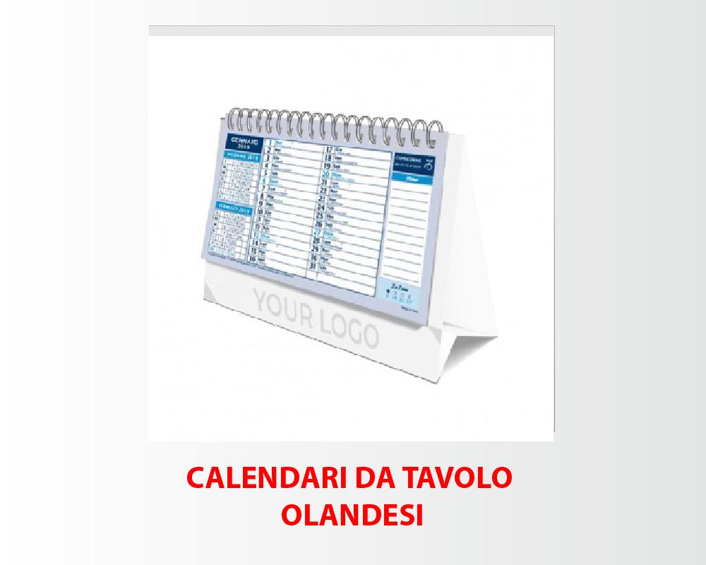 Calendari da Olandesi da Tavolo