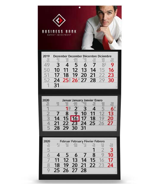 Calendari a 3 Blocchi
