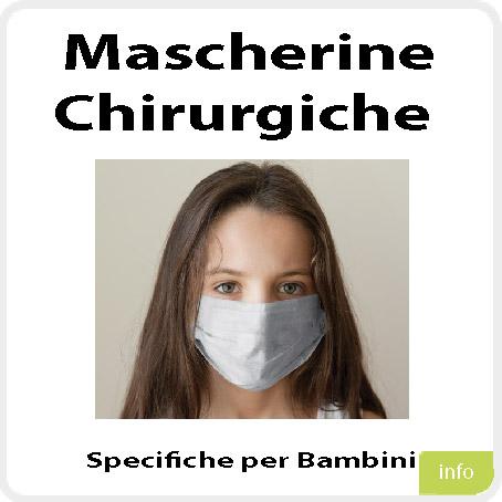 Mascherine Chirurgiche bimbi