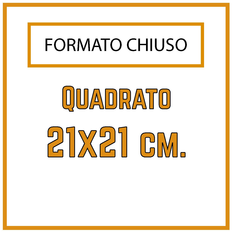 Formato 21x21 cm.