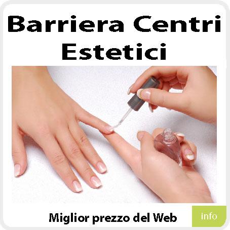Barriera centri estetici