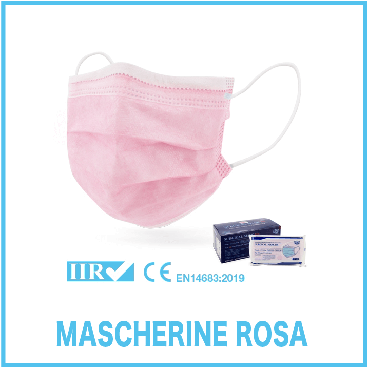 mascherine Rosa