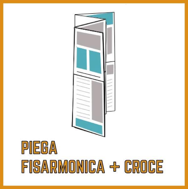 Piega a Fisarmonica + Croce