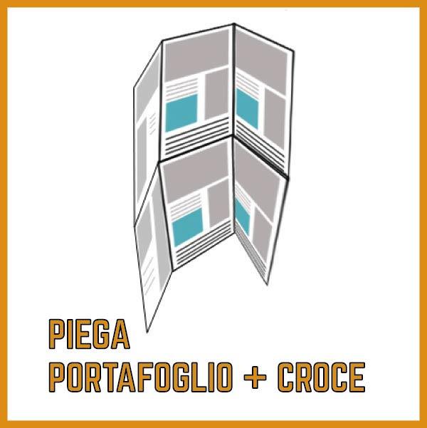Piega a Portafoglio + Croce