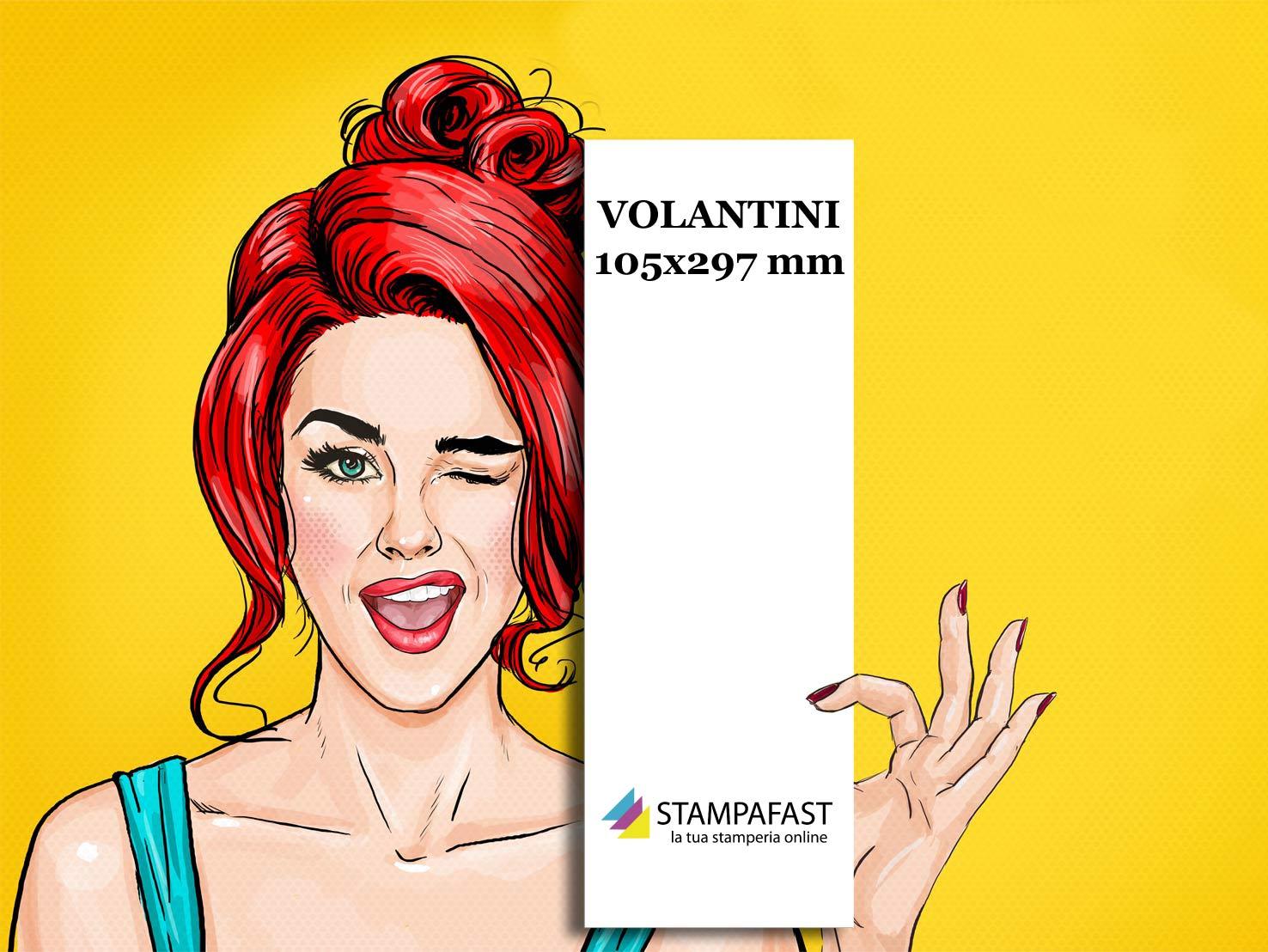 Volantini 105x297