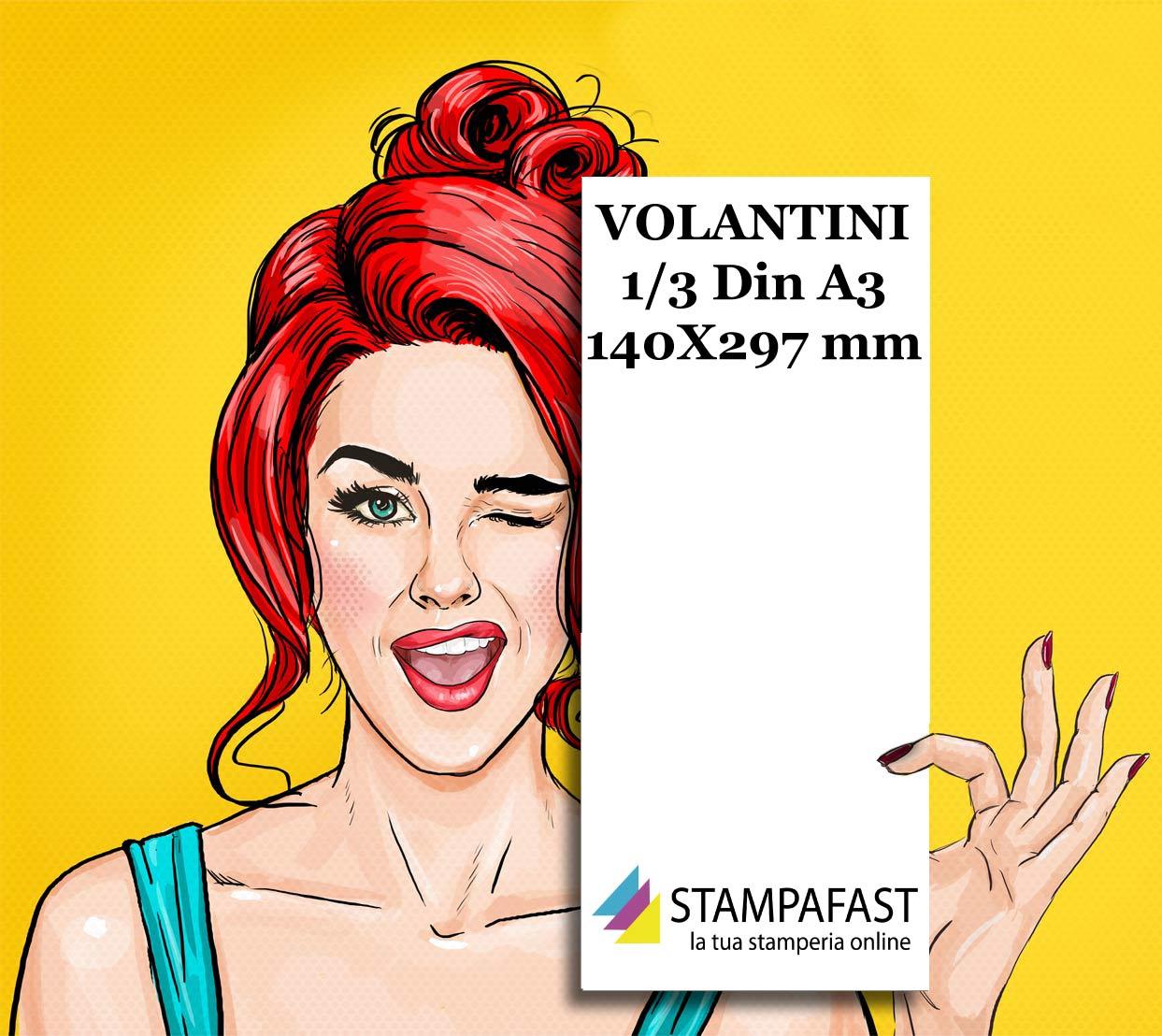 Volantini 1/3 din A3